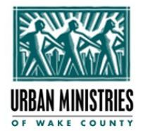 Urban Ministries of Wake County logo